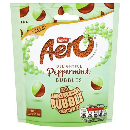 Aero Bubbles Peppermint Pouch 102g
