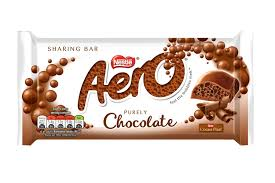 Aero Chocolate Bar Milk 100g