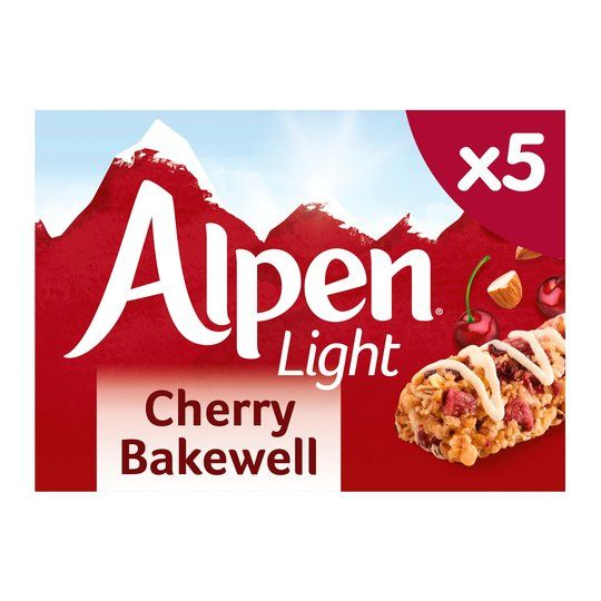 Alpen Light Cherry Bakewell Bars