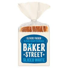 Baker Street White Sliced Bread