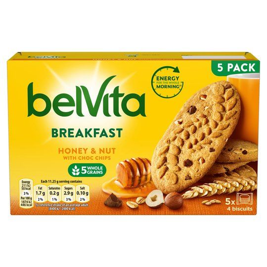 BelVita Honey & Nut 225g