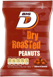 Big D Dry Roasted Peanuts
