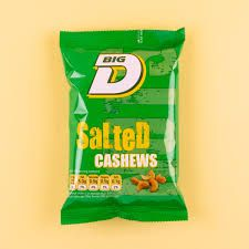 Big D Salted Cashews 100g