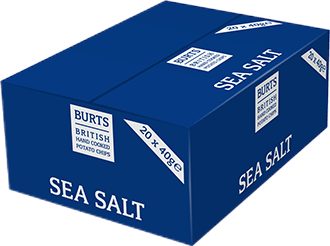 Burts Sea Salt 20x40g
