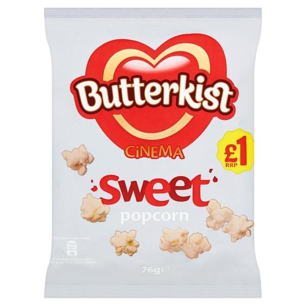 Butterkist Cinema Sweet Popcorn