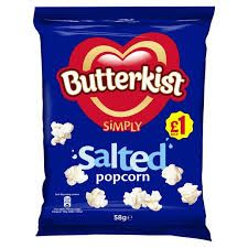 Butterkist Salted Popcorn 58g