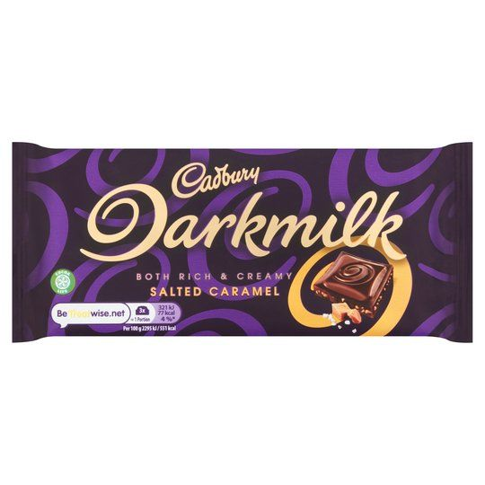 Cadbury Dark Milk Salted Caramel 85g