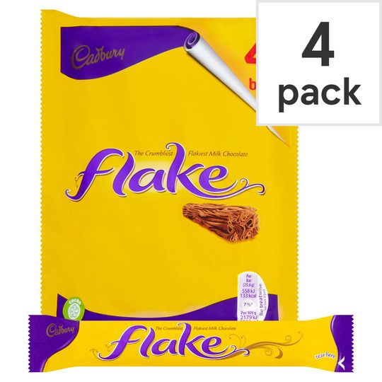 Cadbury Flake 4 Pack