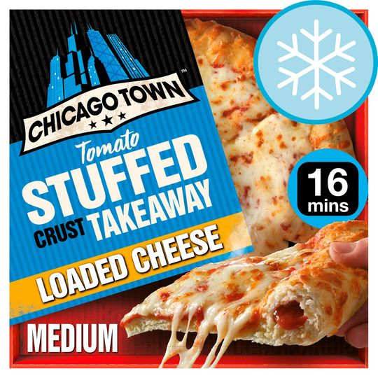 Chicago Town Takeaway Cheese Pizza 630g