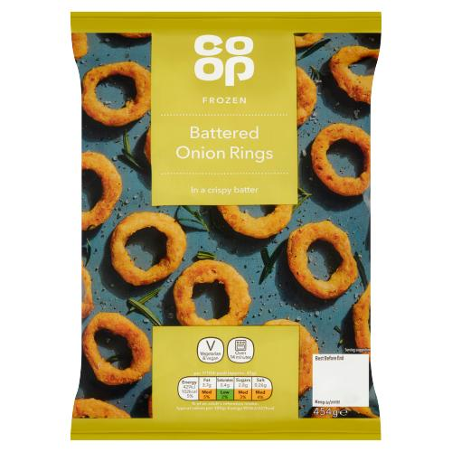 Co-op Battered Onion Rings 454g