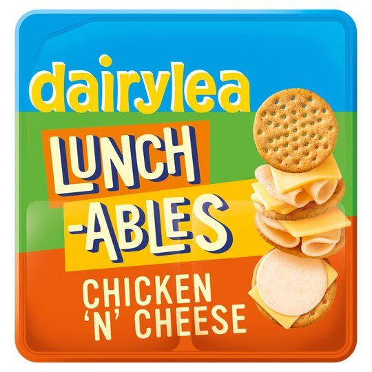 Dairylea Lunchables Chicken & Cheese 76.8g