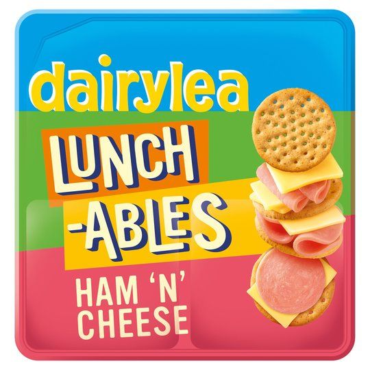 Dairylea Lunchables Ham & Cheese 83.4g