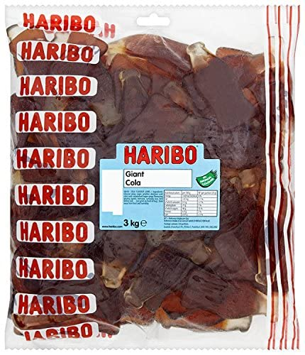 Haribo Giant Cola Bottles 3kg