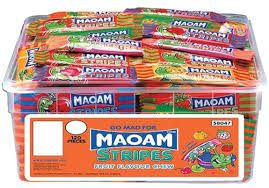 Haribo Maoam Stripes Tub