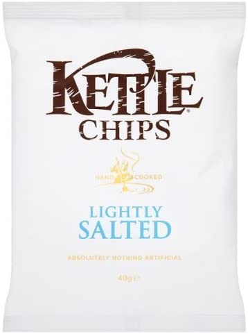 Kettle Chips Lightly salted Case