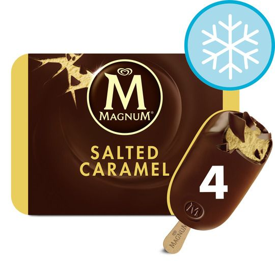 Magnum Salted Caramel Ice Cream 4x100ml