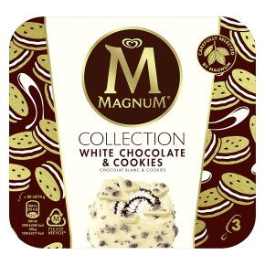 Magnum White Chocolate & Cookies Ice Cream 3x90ml