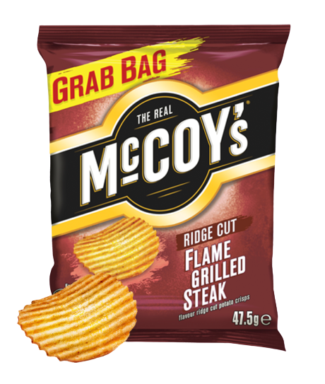 McCoys Crisps Grilled Steak 36x47.5g