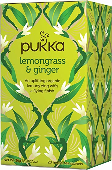 Pukka Lemongrass & Ginger 20 Tea Bags