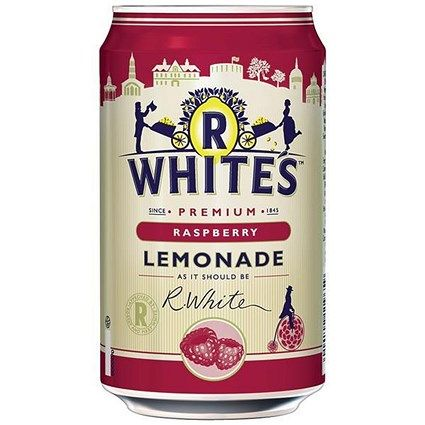 R Whites Raspberry Lemonade 24x330ml