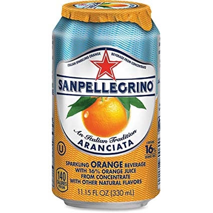 Sanpellegrino Orange 24x330ml
