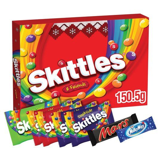 Skittles & Friends Selection Box 150.5g