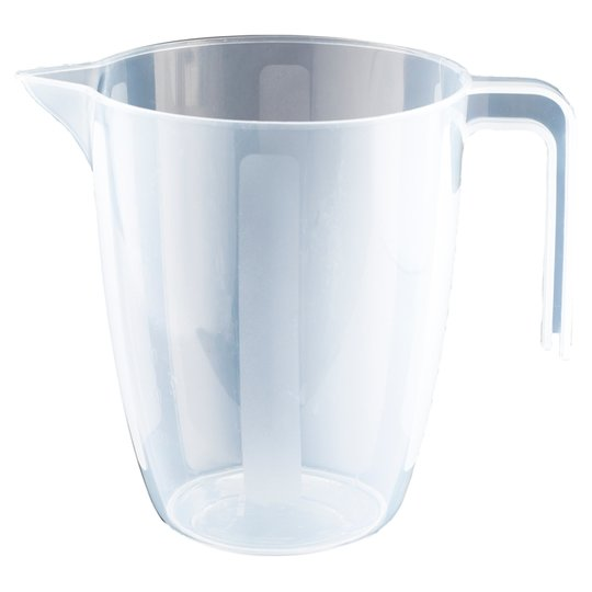 Tesco Basics Plastic Measuring Jug 1L
