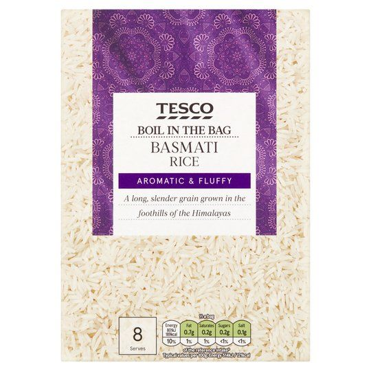 Tesco Boil in the Bag Basmati Rice