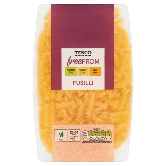 Tesco Free From Fusilli Pasta 500g
