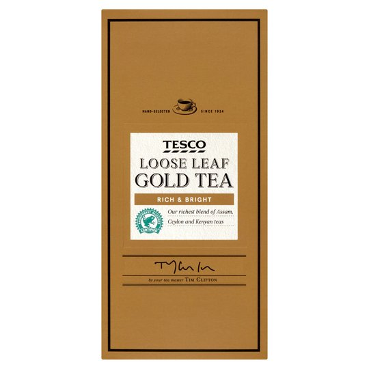 Tesco Gold Loose Leaf Tea 250g