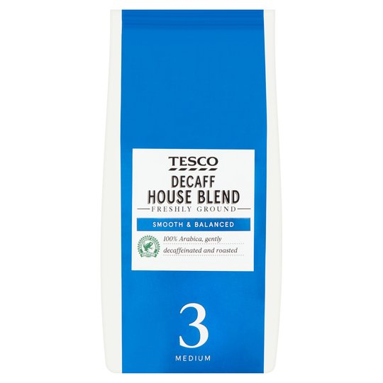 Tesco House Decaff Ground Coffee 227g