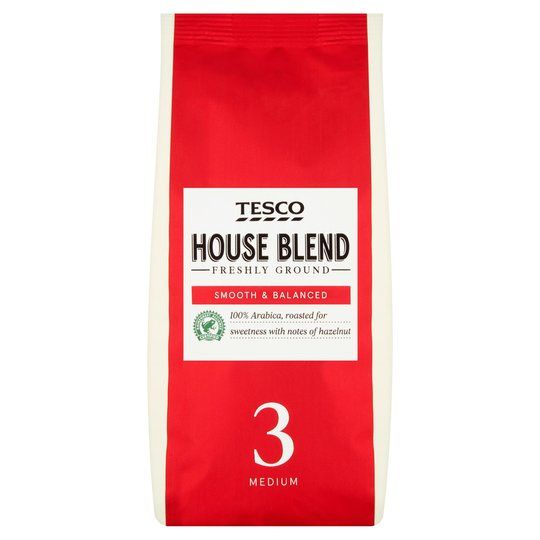 Tesco House Roast & Ground Coffee 227g