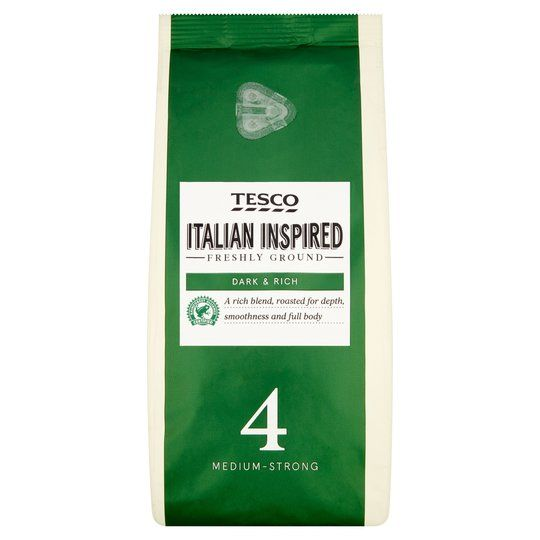 Tesco Italian Inspired Blend Ground Coffee 227g