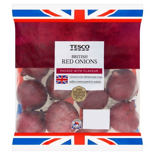 Tesco Red Onions 1kg